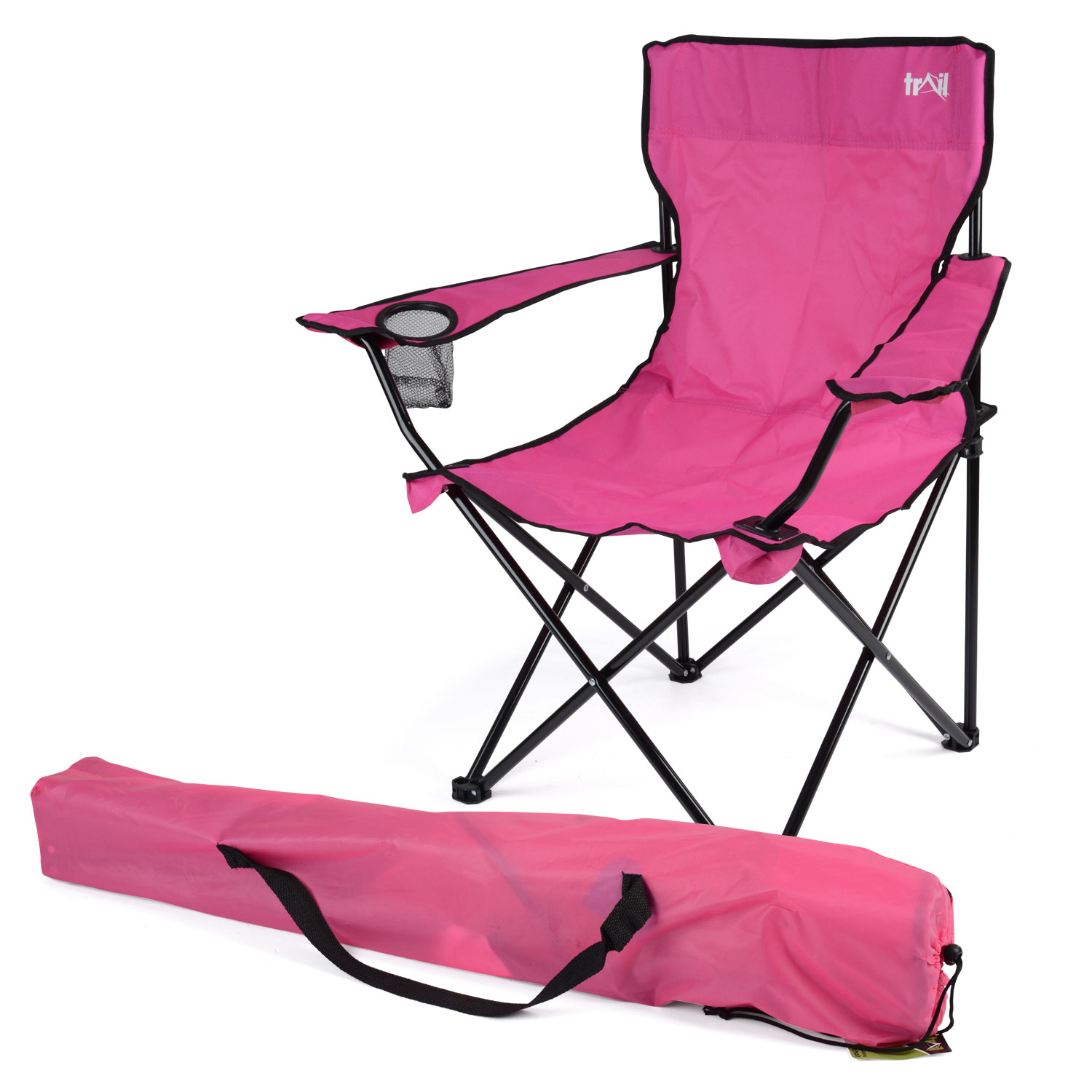 Folding Foldable Camping Beach Chair Fold Up Camp Festival Seat Fishing Chairs