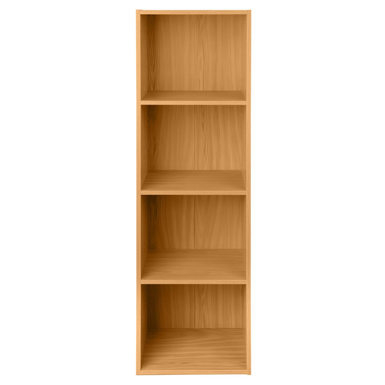 Wooden storage unit cube tier sturdy bookcase