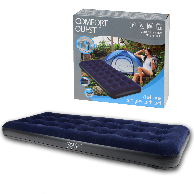 comfort quest air bed instructions