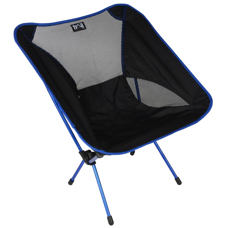 Lightweight Folding Camping Beach Chair Aluminium Outdoor Seat Light weight 1kg