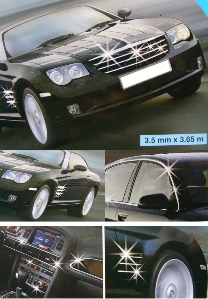 All Ride Chrome Styling Strip Trim Car Van X Exterior Accessory Ebay