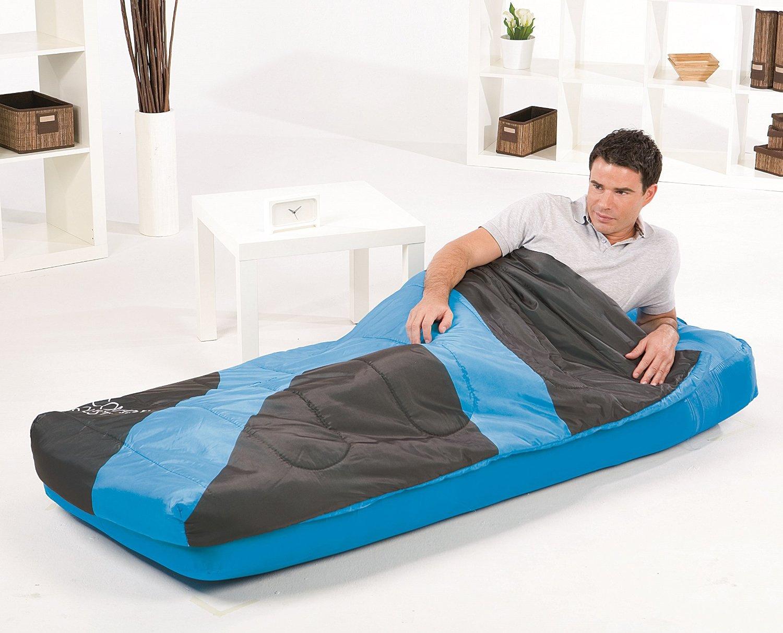 Aslepa Single Sleeping Bag Airbed Inflatable Camping Air ...