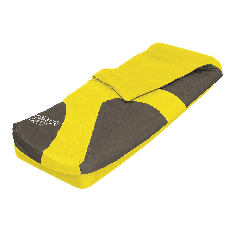 Air Sleeping Bag : Aslepa single sleeping bag airbed inflatable camping air