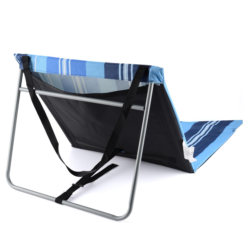 Portable Folding Adjustable Beach Mat Lounger Camping Garden