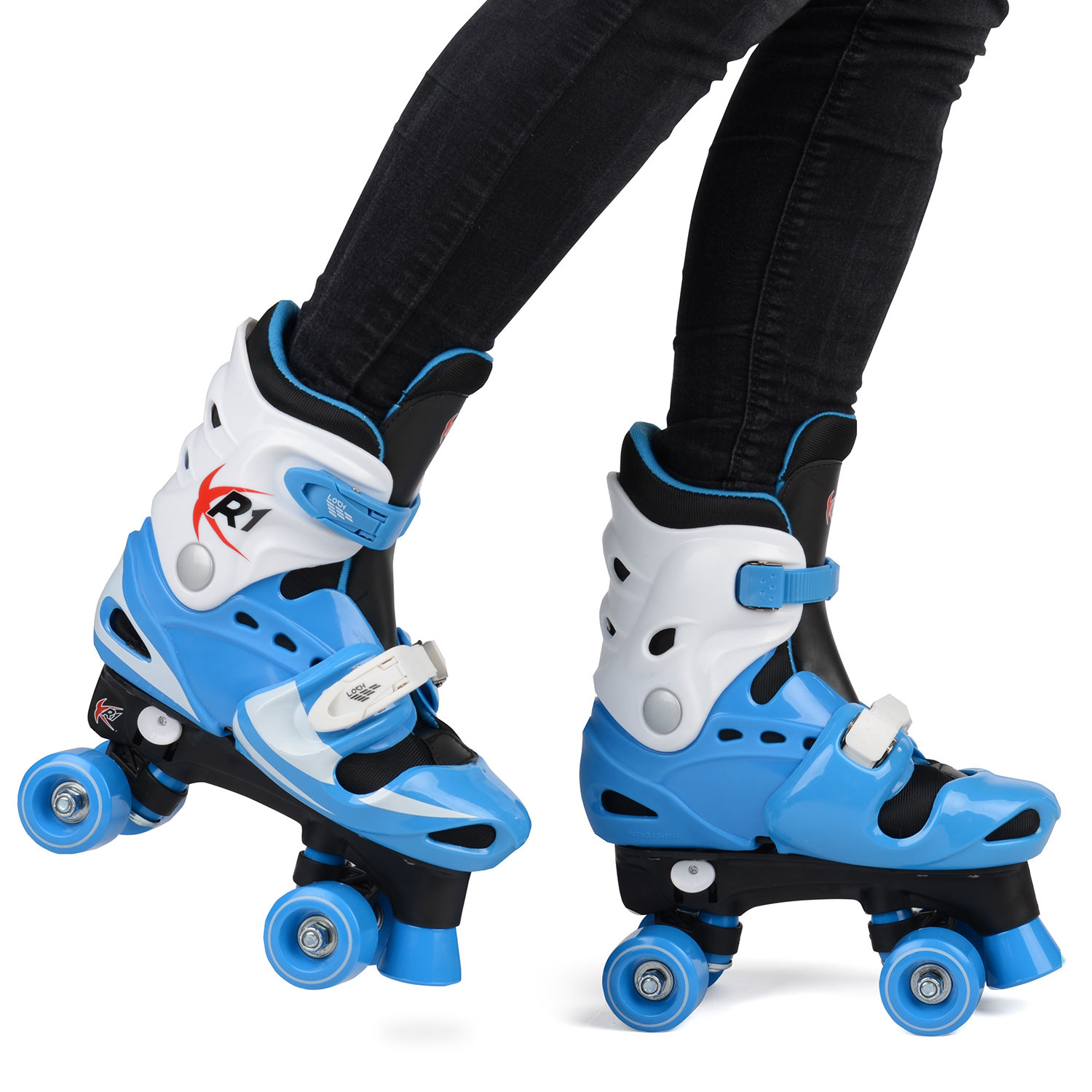 how to ride roller shoes