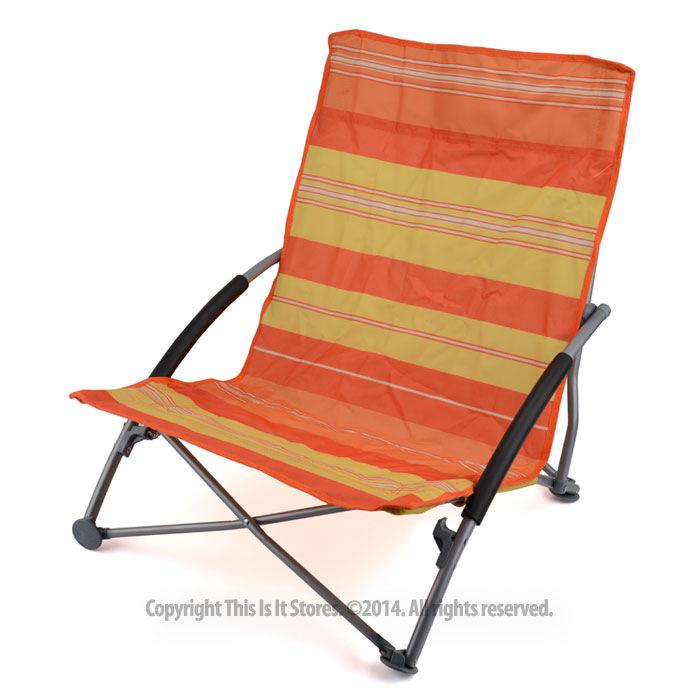 Low Folding Lightweight Fishing Beach Camping Outdoor Chair Foldable Garden Seat