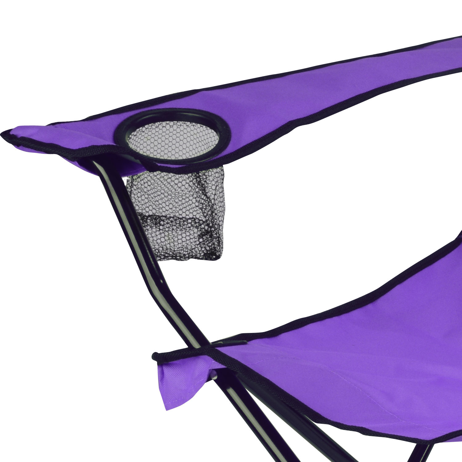 Folding Foldable Camping Beach Chair Fold Up Camp Festival Seat Fishing Chair