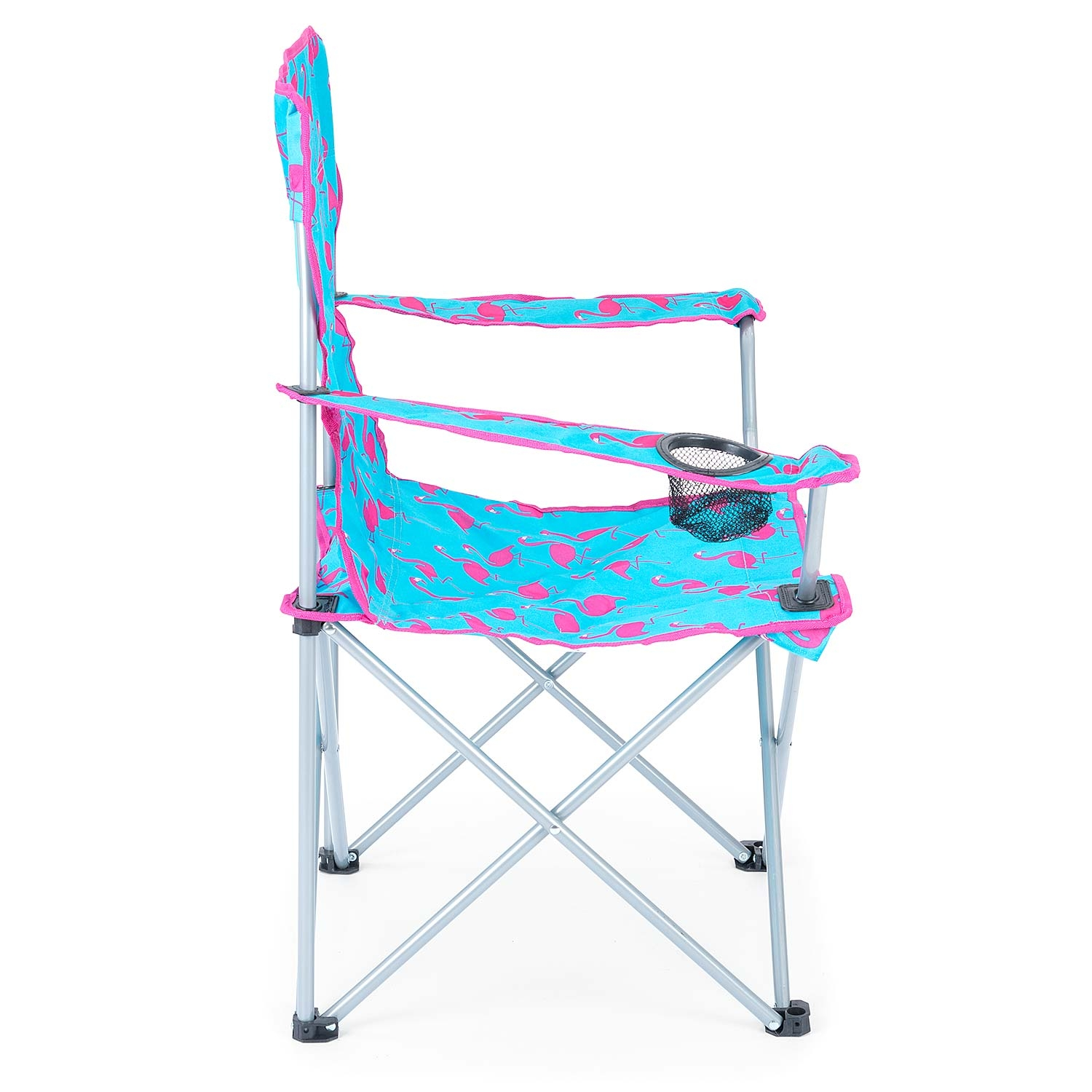 Folding-Camping-Chair-Lightweight-Beach-Festival-Outdoor-Travel-Seat-Flamingo thumbnail 6