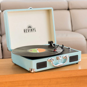 Vinyl record players